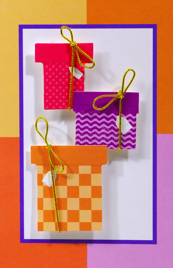 подарки дня рождения Стоковые Изображения