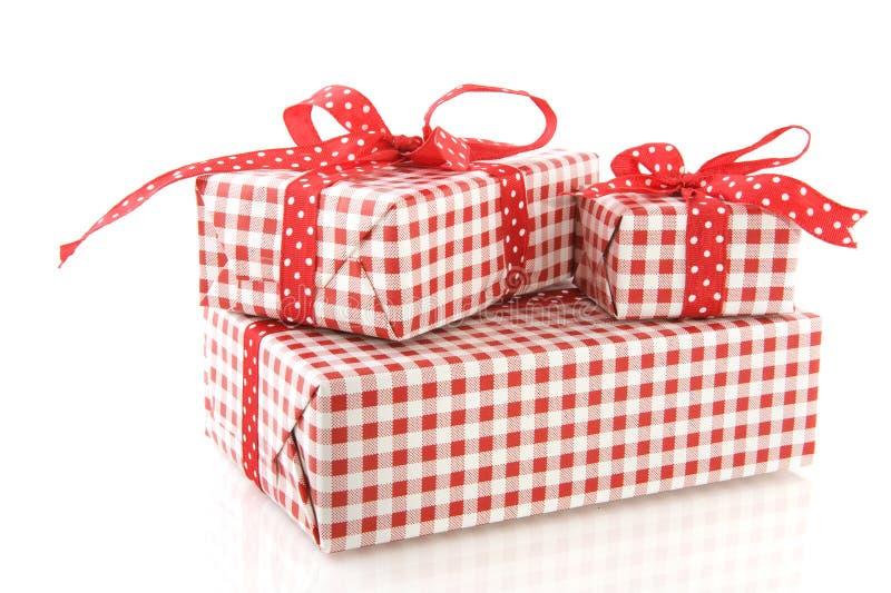 подарки на день рождения стоковая фотография