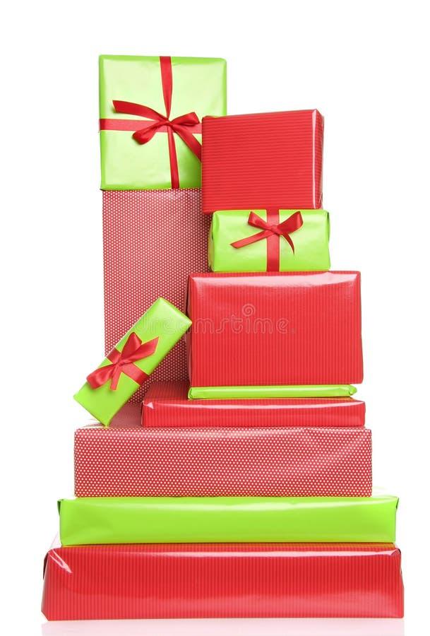 подарки на рождество стоковые фото
