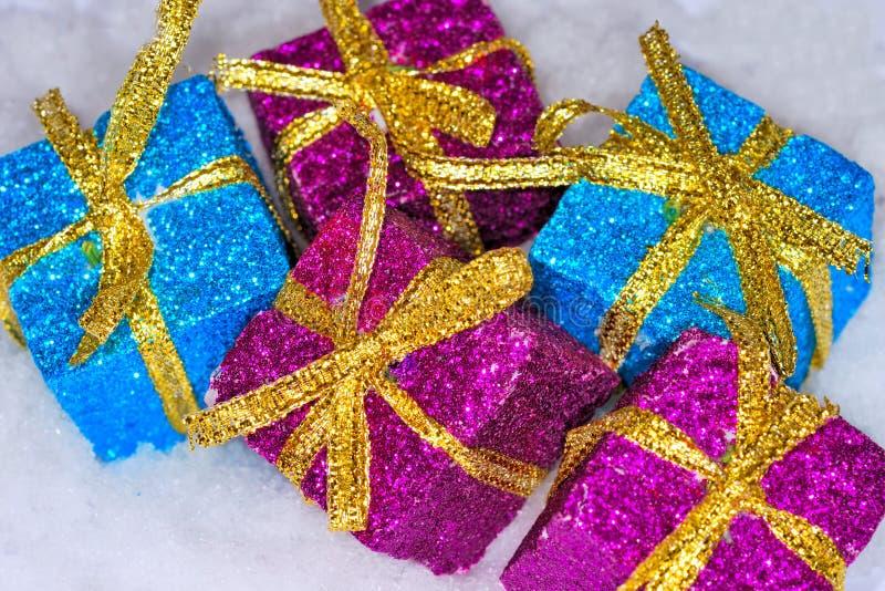 подарки на рождество стоковое фото rf