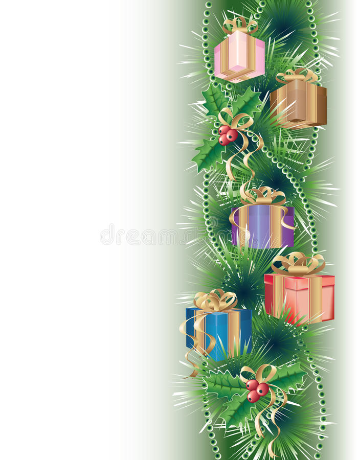 подарки рождества предпосылки бесплатная иллюстрация
