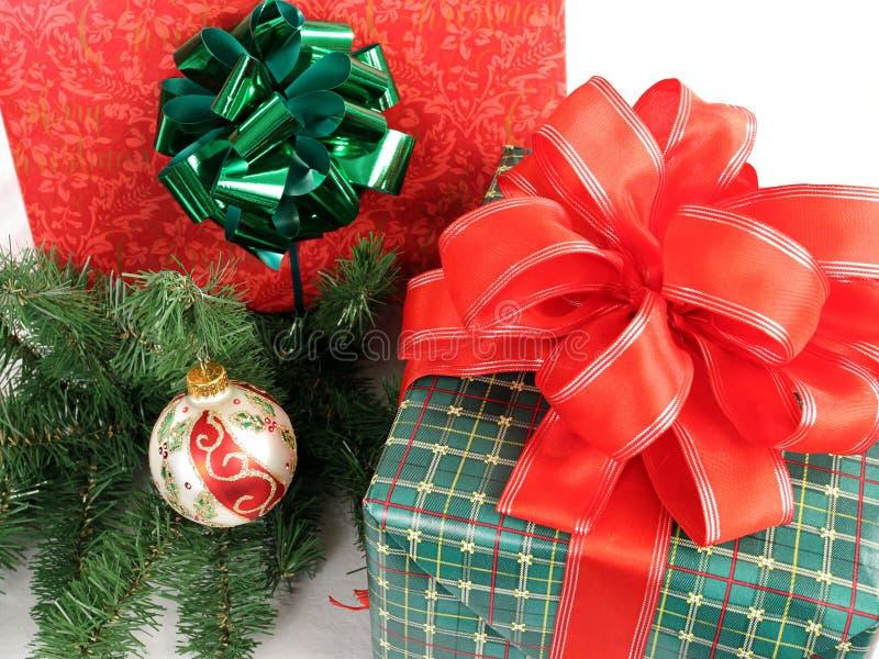 подарки 1 рождества стоковое фото
