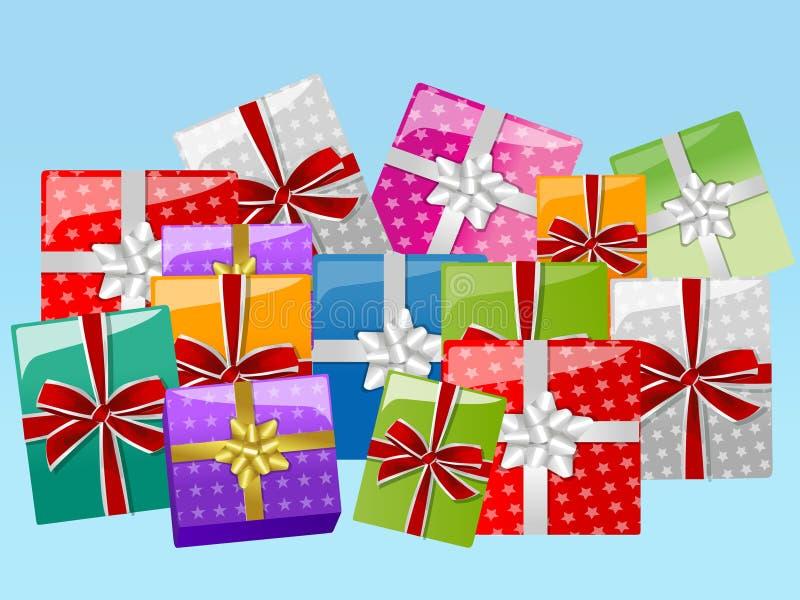 подарки иллюстрация штока