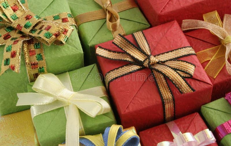 подарки стоковые изображения rf