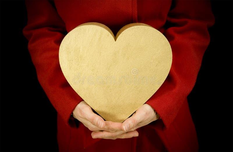 Подарок влюбленности стоковое изображение