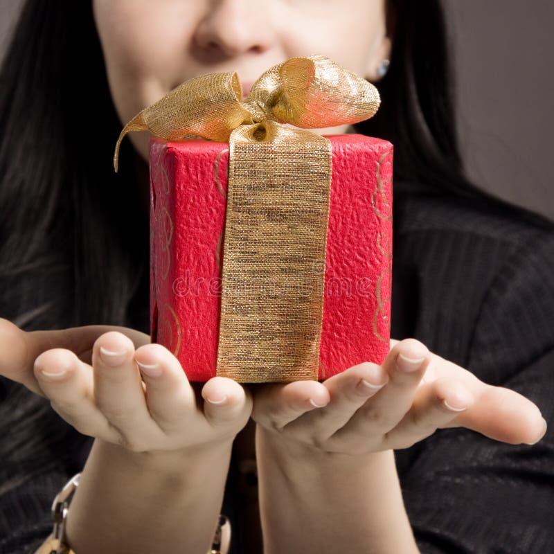 подарок вы стоковая фотография rf