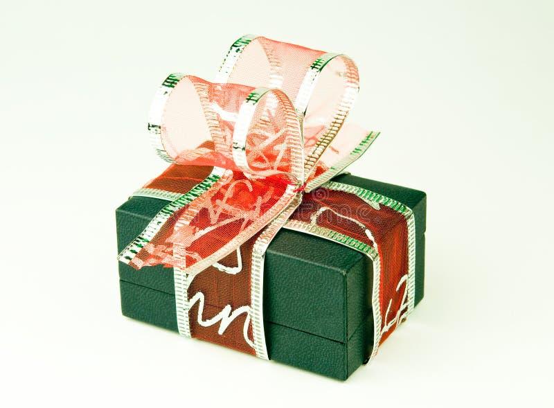подарок коробки смычка стоковое фото