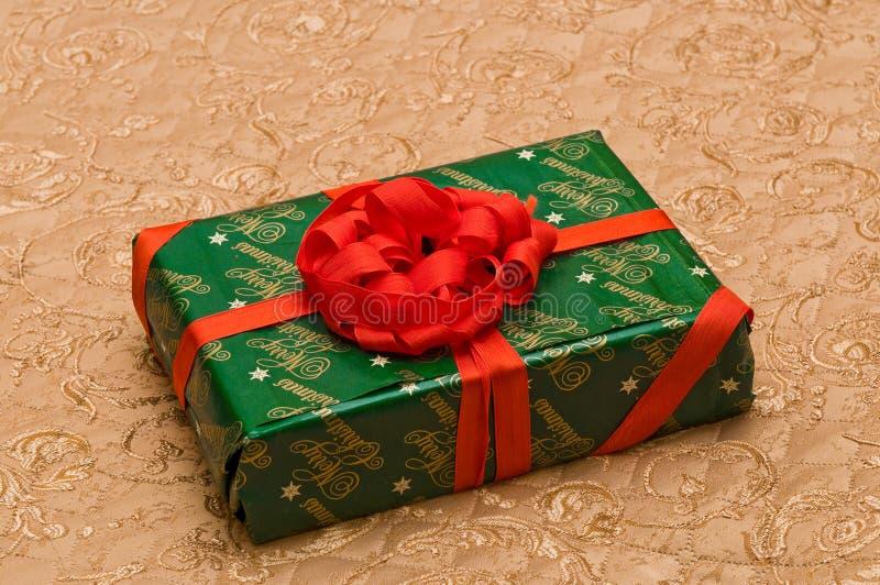 Подарок Кристмас стоковое фото