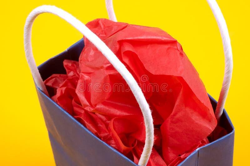 подарок мешка стоковое изображение rf