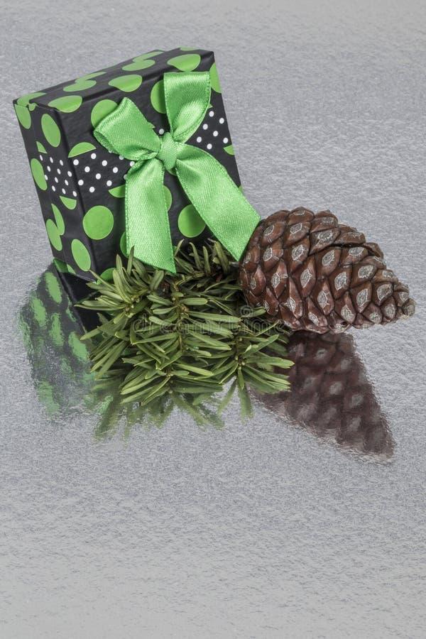 Подарок на Новый Год стоковая фотография rf