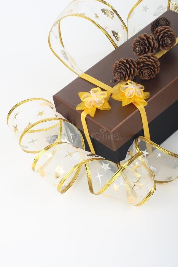 подарок на рождество стоковые фотографии rf