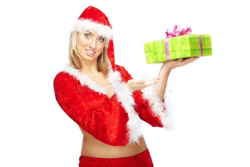 подарок рождества вы стоковое фото rf