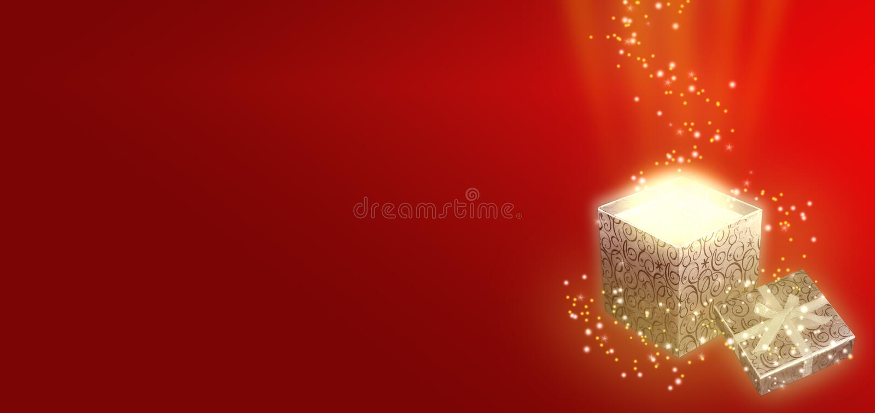 подарок рождества коробки предпосылки стоковые фотографии rf