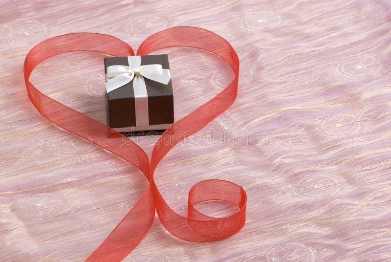 подарок романтичный стоковая фотография