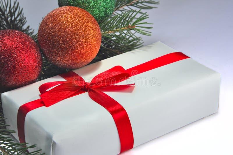 подарок cristmas стоковое фото