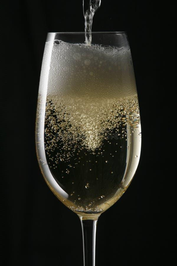 подача шампанского стоковые фото