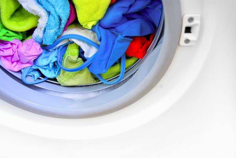 подвергните мыть механической обработке стоковое фото rf
