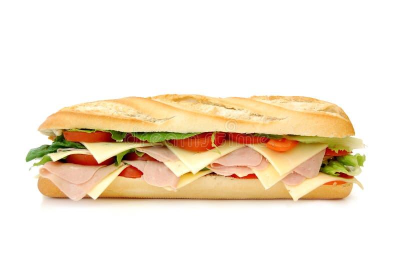 подводная лодка сандвича стоковые фотографии rf