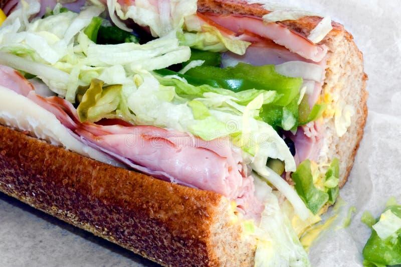 подводная лодка сандвича стоковые изображения rf