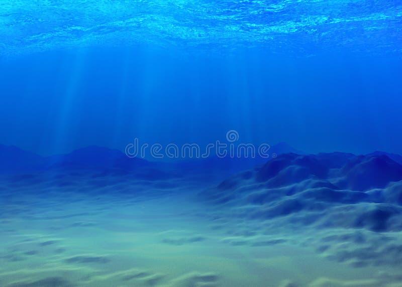 Подводная предпосылка бесплатная иллюстрация