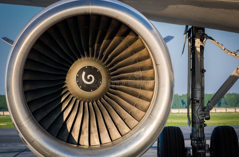 Подготовка воздушных судн для полета стоковое изображение