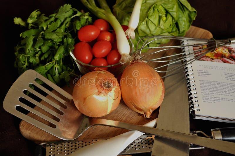 подготовка еды стоковые изображения
