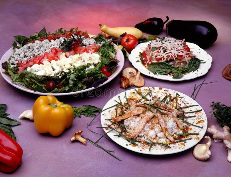подготовленная еда стоковое фото rf