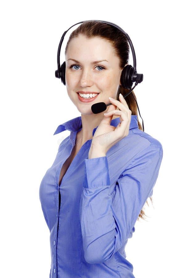 поддержка телефона оператора шлемофона стоковые фотографии rf