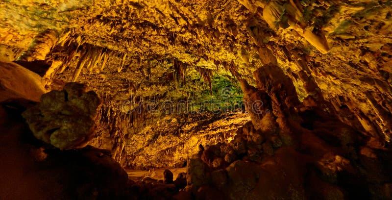 Подземелье Drogarati в Cephalonia стоковая фотография