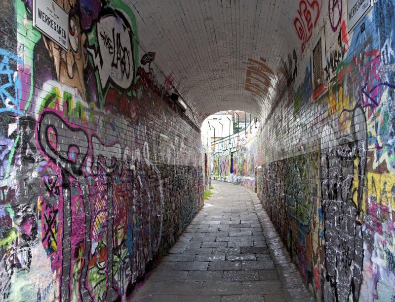 Подземка от Gent стоковая фотография