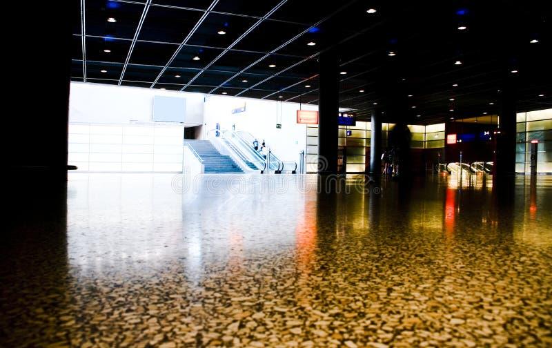 подземка potsdamerplatz стоковая фотография rf