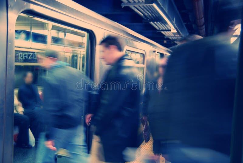 подземка york города новая стоковое изображение rf