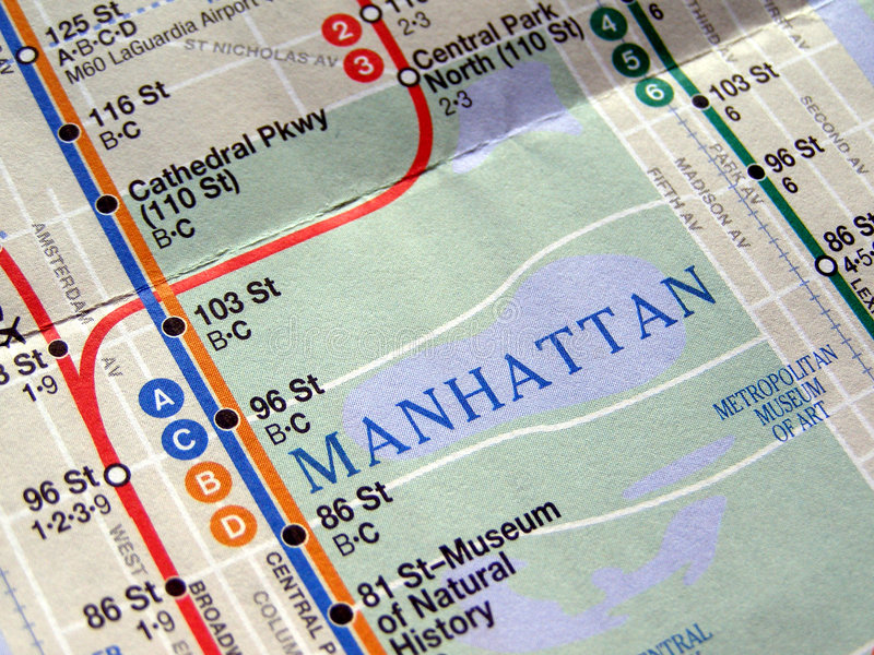 подземка york карты новая стоковое фото rf