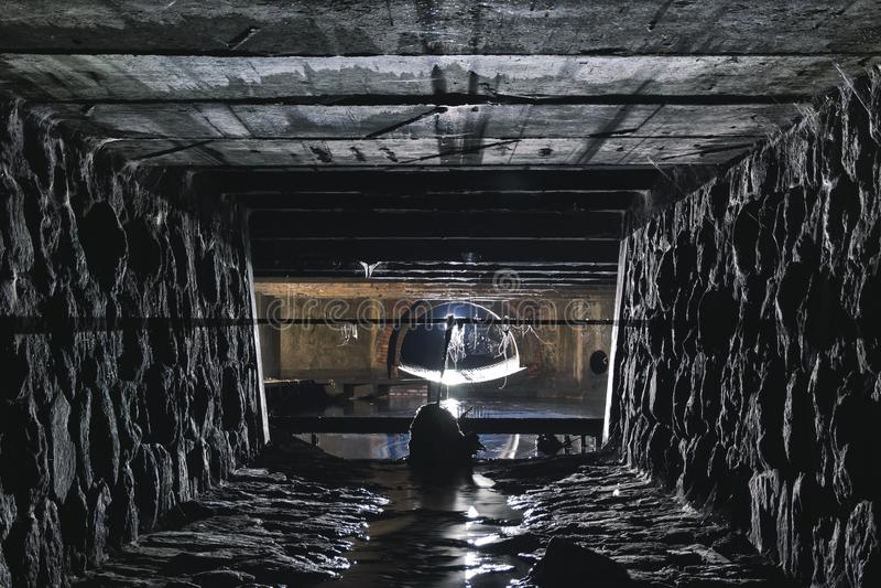 Download Подземная система под городом Стоковое Изображение - изображение: 104193381