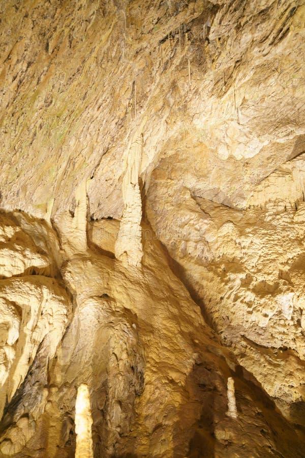 Подземные grottes стоковые изображения