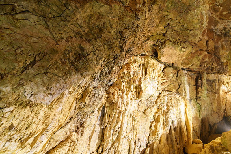 Подземные grottes стоковое изображение rf