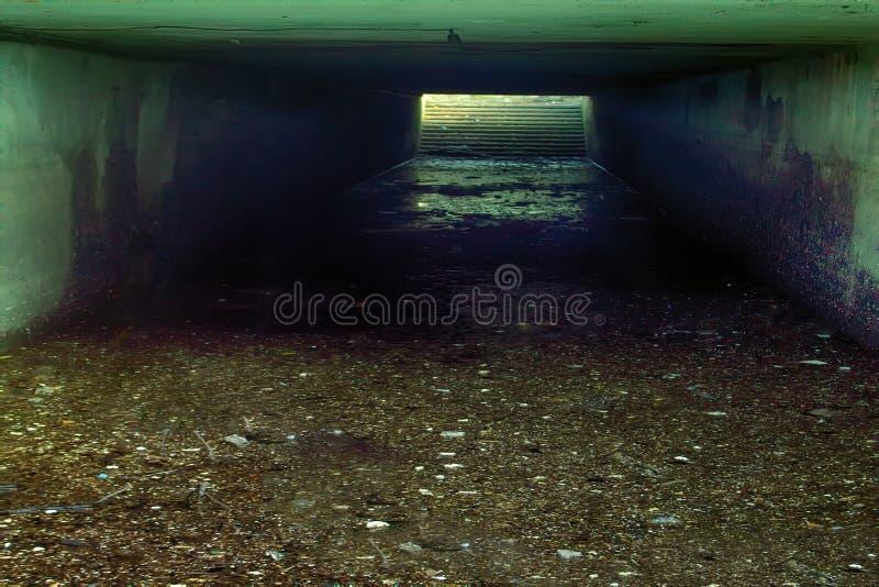 Подземный воинский бункер стоковые изображения rf