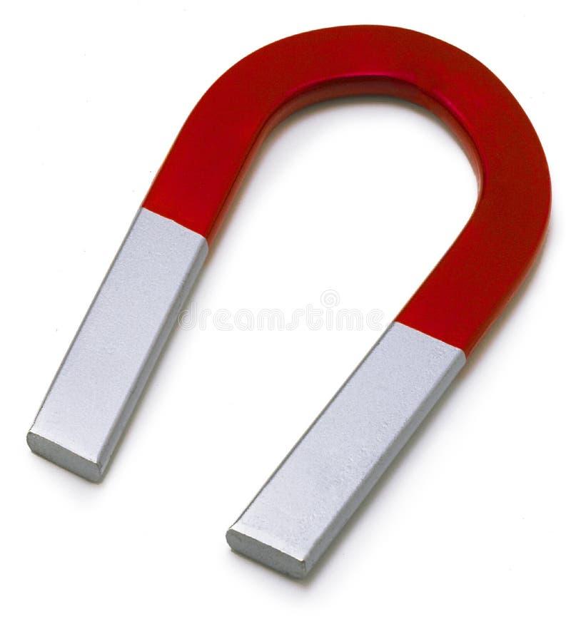 подковообразный магнит стоковое фото