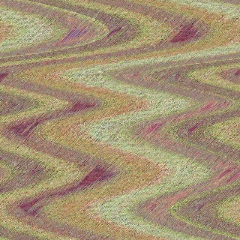 Подкрашиванные влияния краски масла крася художественное произведение Волнистое художественное произведение с грубыми влияниями п стоковые изображения