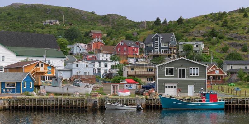 Подленькая гавань в Ньюфаундленде стоковые изображения