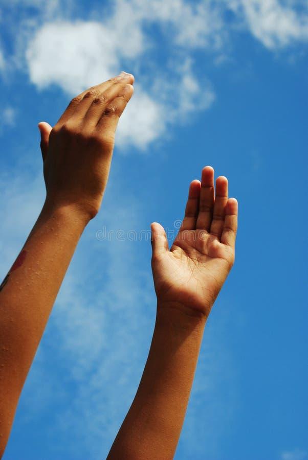 подниматься рук стоковое фото rf
