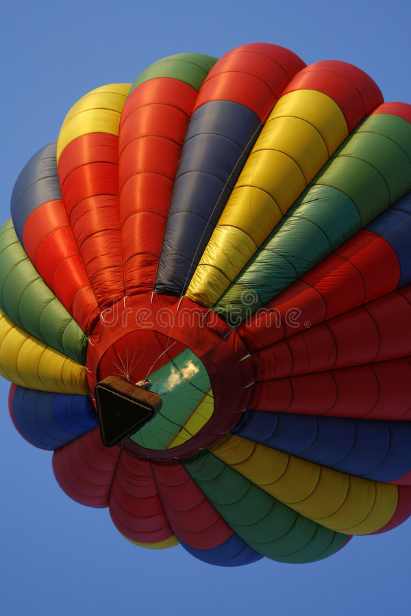 поднимать воздушного шара цветастый горячий стоковая фотография rf