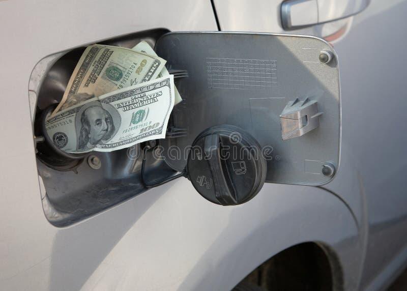 поднимать газовых цен стоковая фотография rf