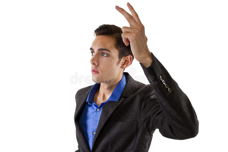 Поднимать руку стоковое фото