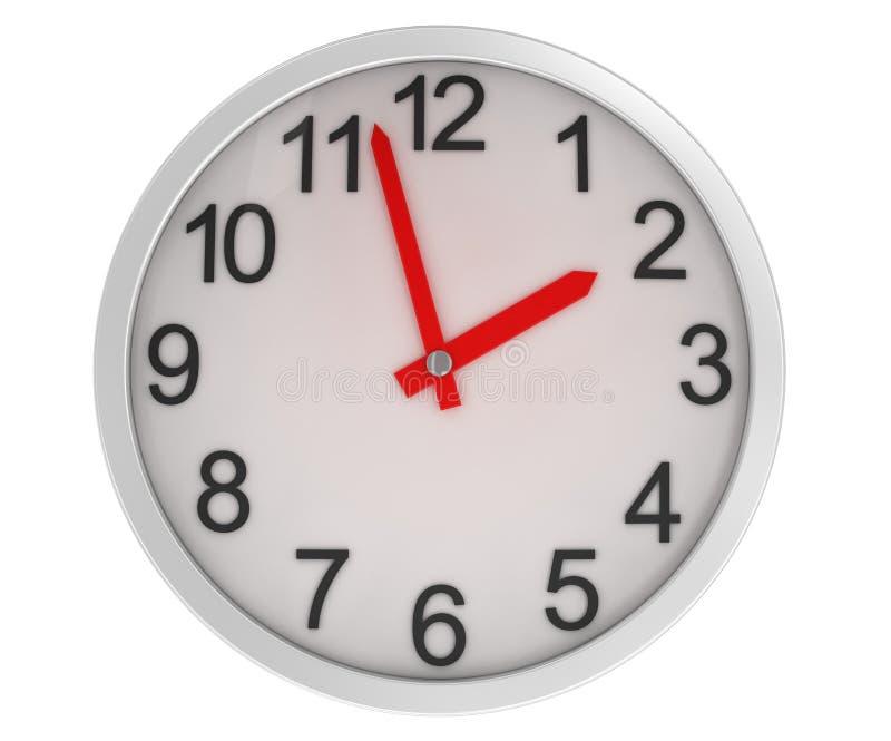 поднимающее вверх часов близкое иллюстрация вектора