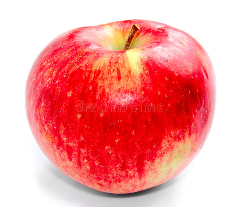 поднимающее вверх яблока близкое стоковая фотография