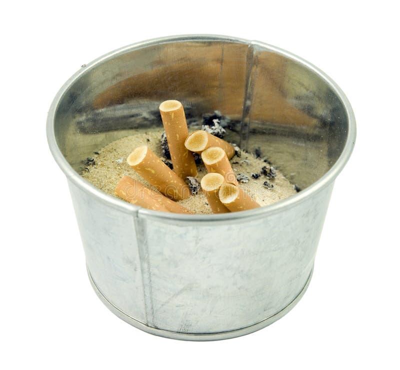 Поднос золы сигареты стоковая фотография