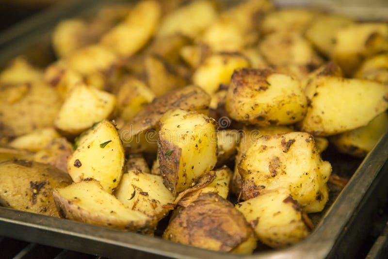 Поднос картошек жаркого стоковое фото rf