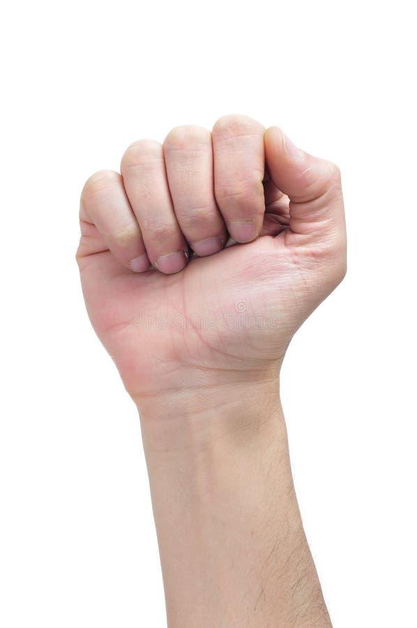 поднятый кулачок Стоковые Фото