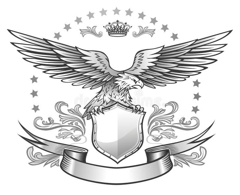 подогнали распространение insignia орла, котор иллюстрация штока